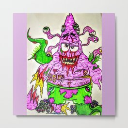 Patrick Star Metal Print