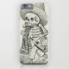 Calavera of Francisco Madero, Posada iPhone Case