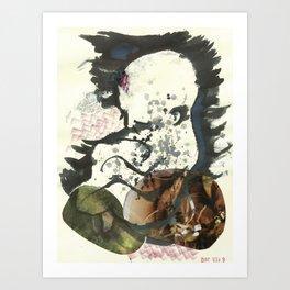 madiel, my boy Art Print