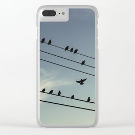 Change of Perch Clear iPhone Case