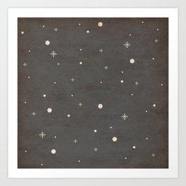 Vintage Star-Field Art Print