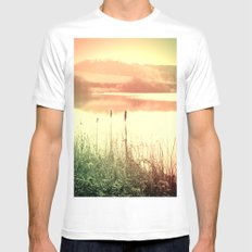 Reeds Mens Fitted Tee MEDIUM White
