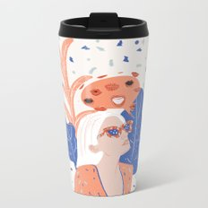 Thinkin About Kissin You Metal Travel Mug