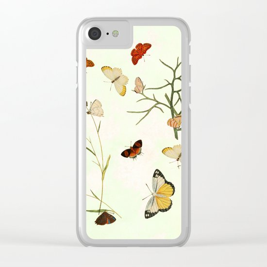 The butterfly ball Clear iPhone Case
