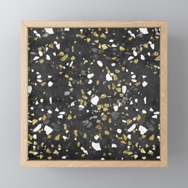 Glitter and Grit 2 Framed Mini Art Print
