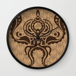 Victorian Octopus Wall Clock