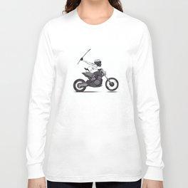 Guerilla Biker Long Sleeve T-shirt