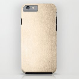White Gold Sands iPhone Case