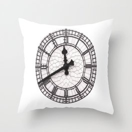 The Countdown is on Throw Pillow