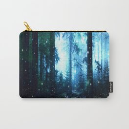 Fireflies Night Forest Carry-All Pouch