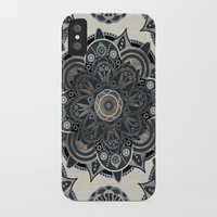 islam iPhone & iPod Cases featuring Silver Mandala by Mantra Mandala