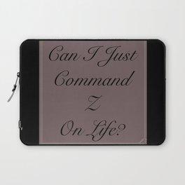 Command Undo Laptop Sleeve