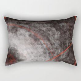 I should have read between the lines- abstract expressive art Rectangular Pillow