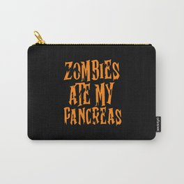 Zombies Ate My Pancreas Carry-All Pouch