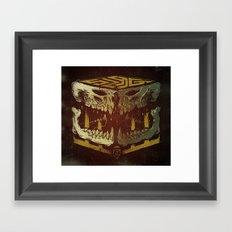 Bone Slag Framed Art Print