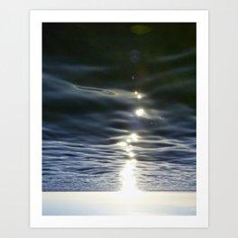 Sky Walker Art Print