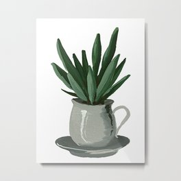 House Plant III Metal Print