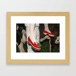 The queen is thirsty. Really, really thirsty Framed Art Print