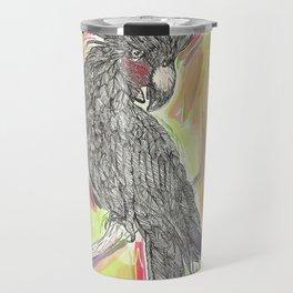 Lime wash Cockatoo Travel Mug