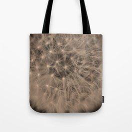 Macro Dandelion Fine Art Photography Tote Bag