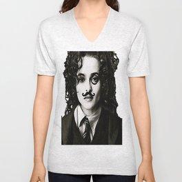 Helena Bonham... Chaplin? Unisex V-Neck