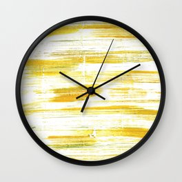 Lotion abstract watercolor Wall Clock