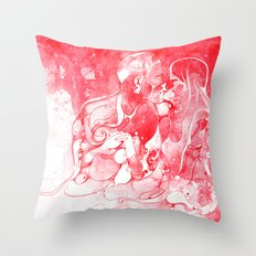 Love Is Red Throw Pillow