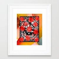 tarot Framed Art Prints featuring Tarot by Jose Luis