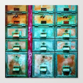 Mailbox (Hyper Color Remix) Canvas Print