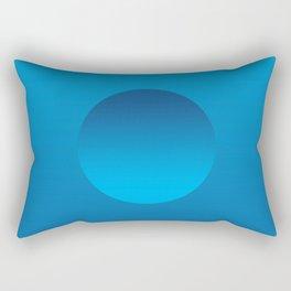 Blue Float Rectangular Pillow