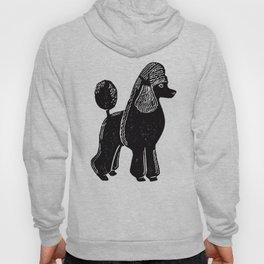 Black Standard Poodle Hoody