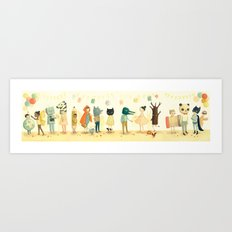 The Costume Party by Emily Winfield Martin Art Print