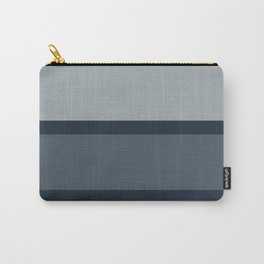 Bold Blue Stripes Carry-All Pouch