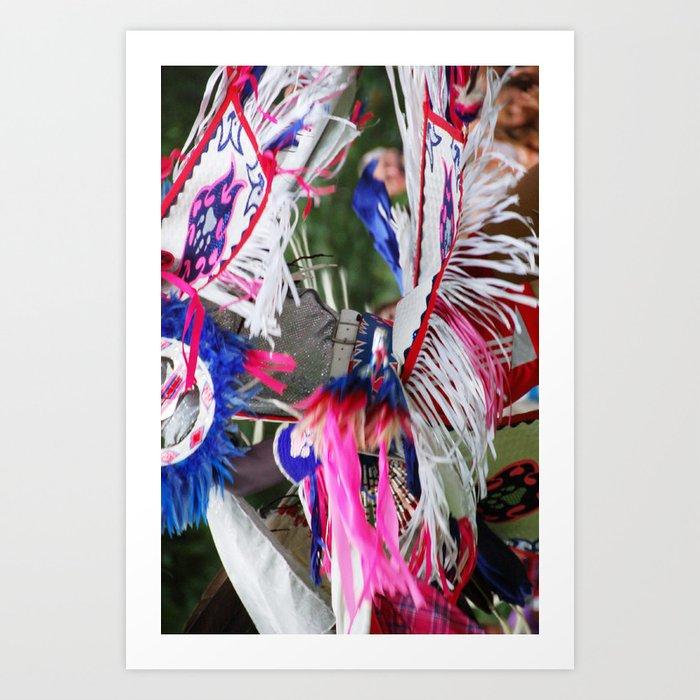 Blackhawk Indian Dance Art Print