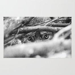 Wild Eyes Wolf Edition Rug