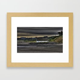 Cottage @ Laytown Beach Framed Art Print