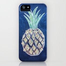Chalk Pineapple iPhone Case