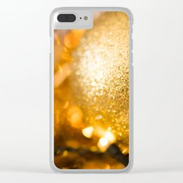 Golden Cheer III Clear iPhone Case