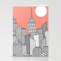 skyline Stationery Cards featuring Skyline  by  Steve Wade ( Swade)