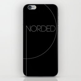 NORDED - LINE & CIRCLE iPhone Skin