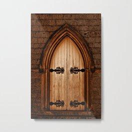 Forbidden Door Metal Print