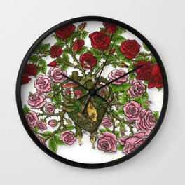 Witch's Heart Wall Clock
