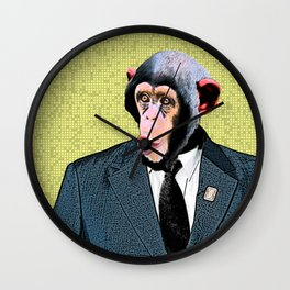MonkeyBusiness Wall Clock
