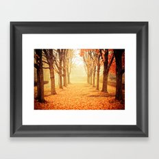 The Poetry of Autumn Framed Art Print