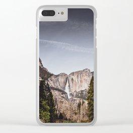 Bridalveil Falls Clear iPhone Case