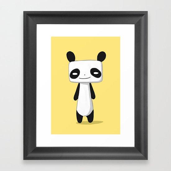 Panda 2 Framed Art Print
