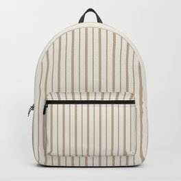 Stripes in trendy colors Backpack