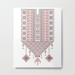Vector tatreez Metal Print