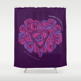 astridfox + kellyontherun project #3 Shower Curtain