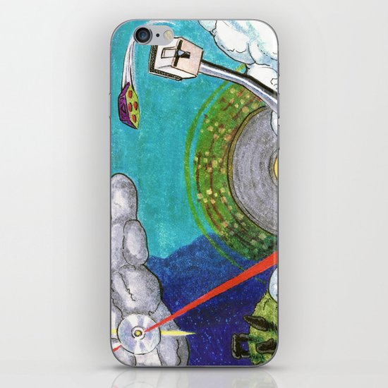 Music on the Horizon by Cap Blackard iPhone & iPod Skin